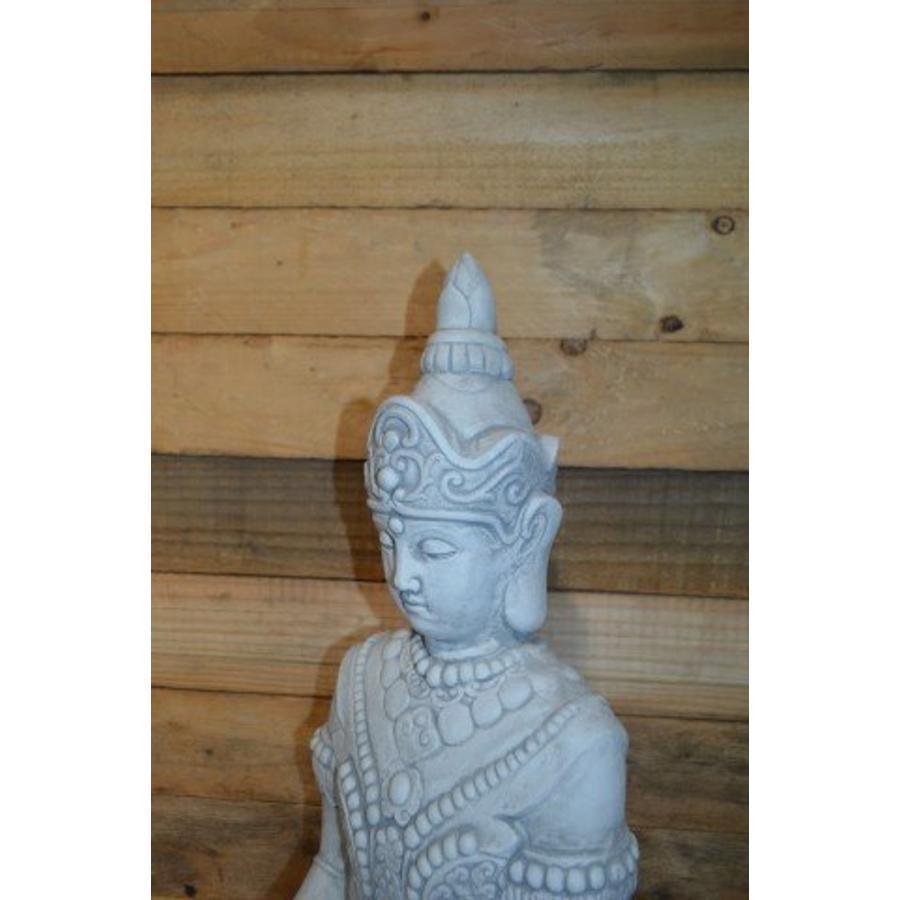 Boeddha met een schaaltje ( H 64 cm)-3