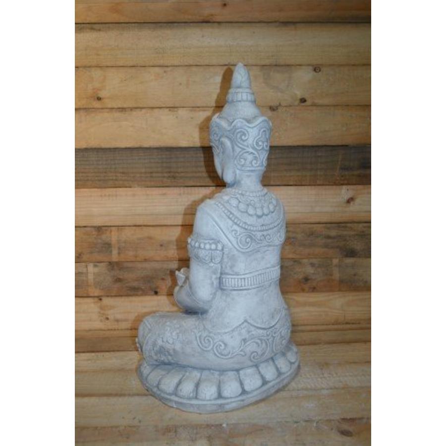 Boeddha met een schaaltje ( H 64 cm)-4
