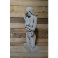 thumb-Naakte vrouw op voetstuk-2