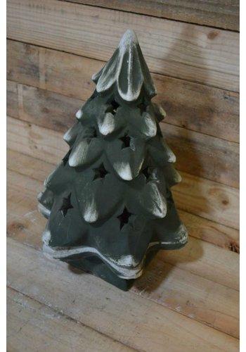 kerstboom geschikt voor verlichting