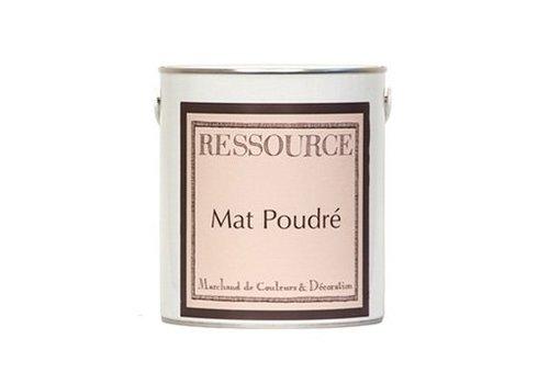 Ressourceverf Mat Poudré