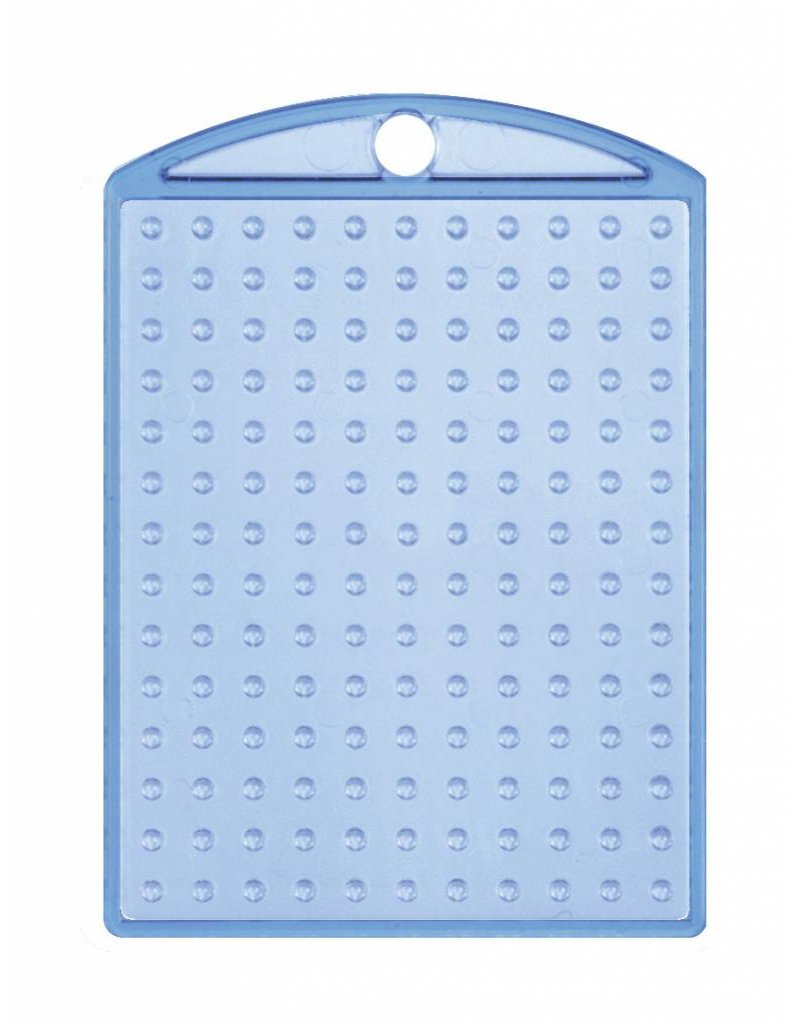 Pixel Hobby Medaillon transparant blauw