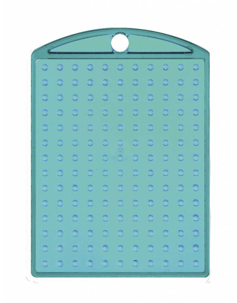 Pixel Hobby Medaillon transparant turquoise