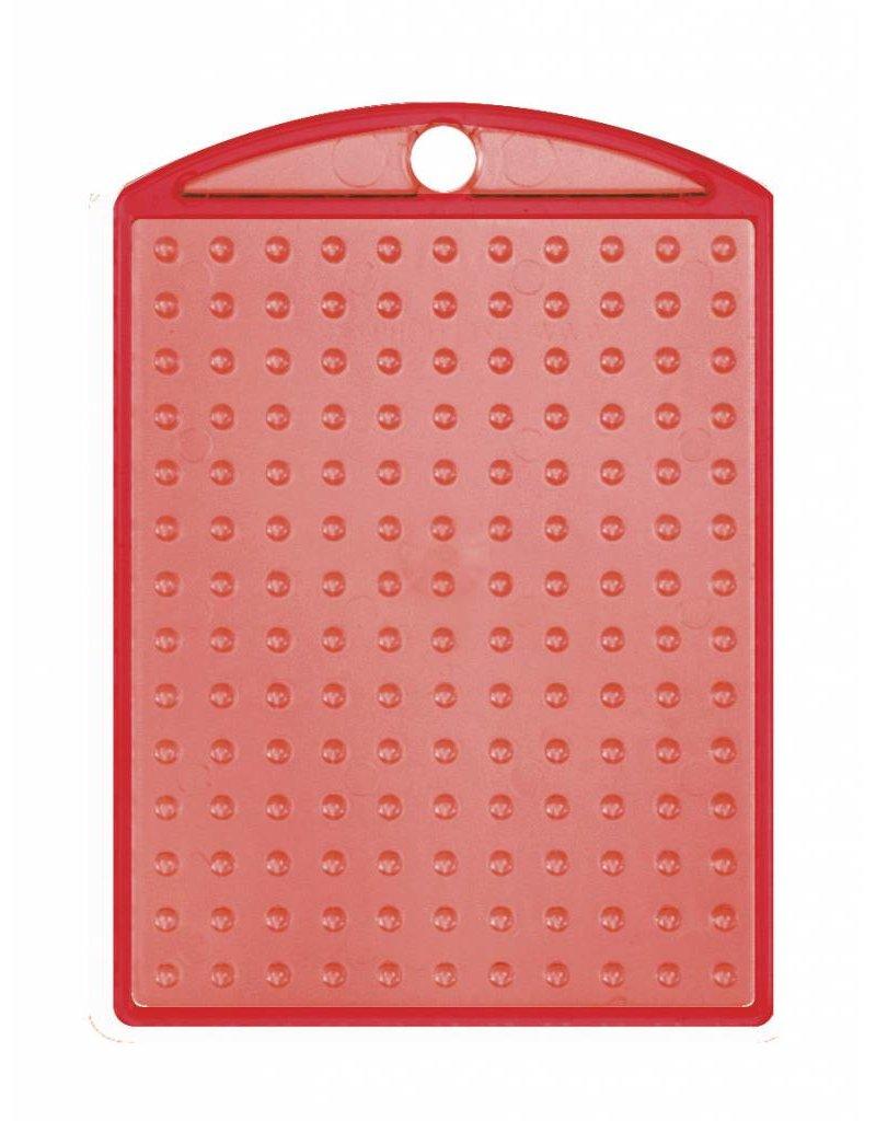 Pixel Hobby Medaillon transparant rood