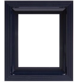 Pixel Hobby Kunststof lijst voor 1 basisplaat (zwart-blauw)