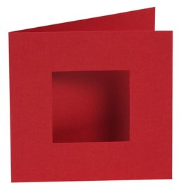 Pixel Hobby set van 4 kaarten enkele ril - binnenkant (rood)