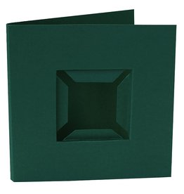 Pixel Hobby set van 4 kaarten dubbele ril - voorkant (groen)
