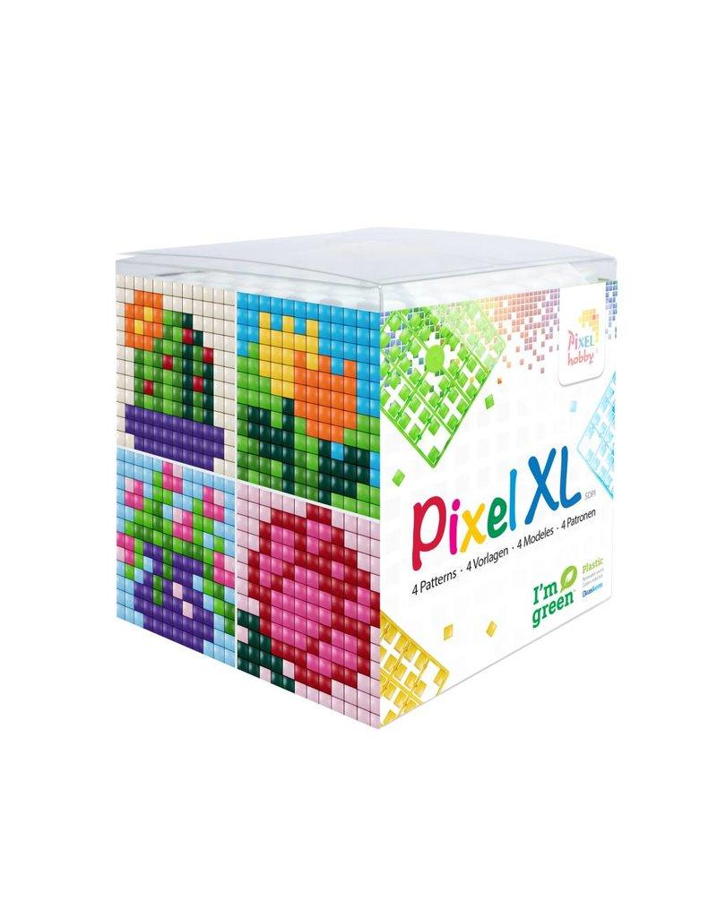 Pixel Hobby Pixel XL kubus - bloemen