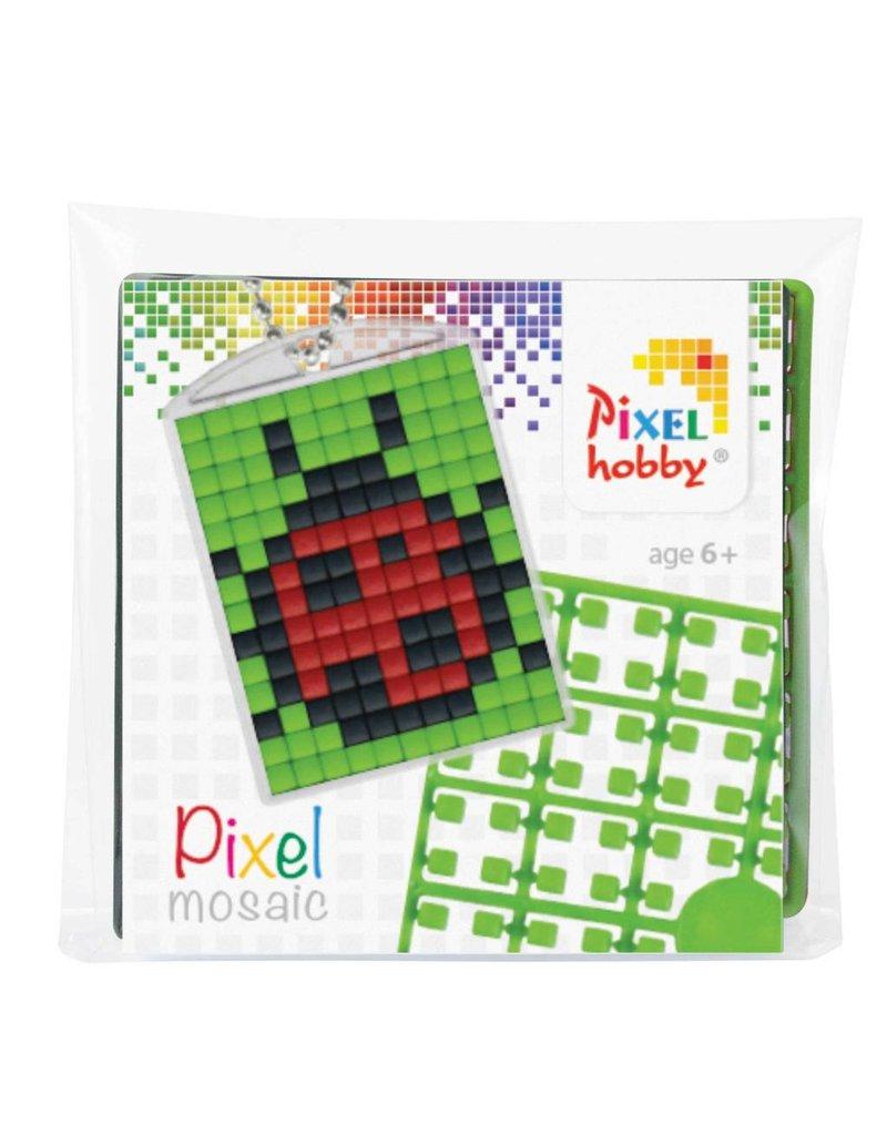 Pixel Hobby Medaillon lieveheersbeestje