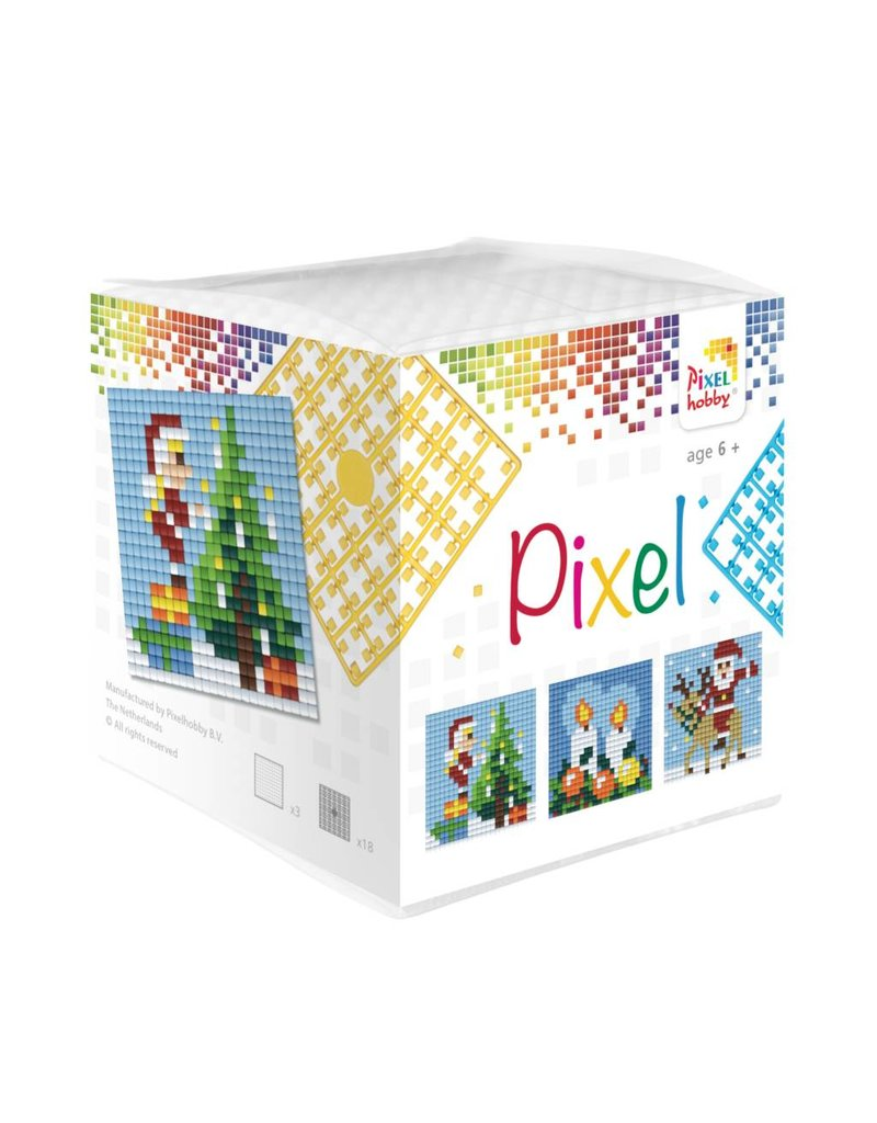 Pixel Hobby Pixel kubus  Kerst