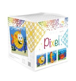 Pixel Hobby Pixel kubus - Zeedieren