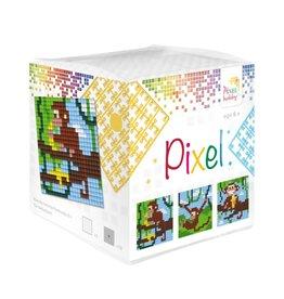 Pixel Hobby Pixel kubus - Aapjes