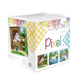 Pixel Hobby Pixel kubus - Paarden