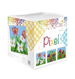 Pixel Hobby Pixel kubus - Bloemen