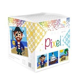 Pixel Hobby Pixel kubus - Piraat