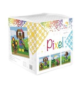 Pixel Hobby Pixel kubus - Tuinieren