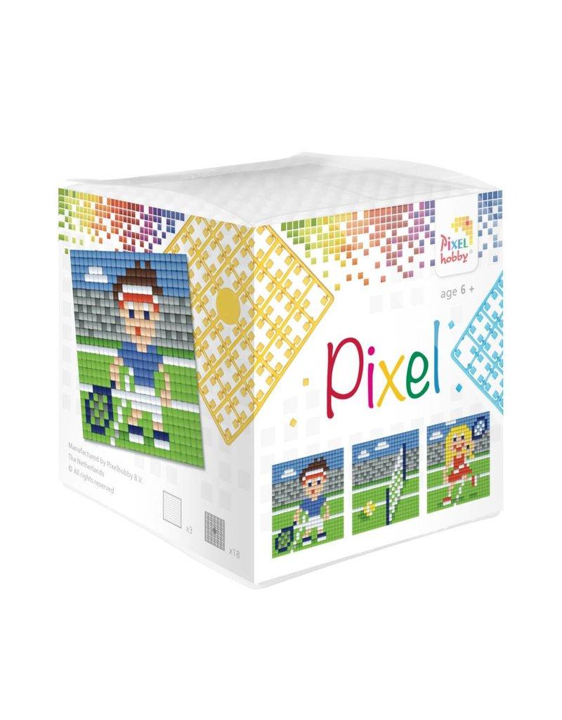 Pixel Hobby Pixel kubus - Tennis