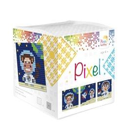 Pixel Hobby Pixel kubus - Op de maan