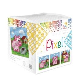 Pixel Hobby Pixel kubus - Biggetjes