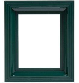 Pixel Hobby Kunststof lijst voor 1 basisplaat (donker-groen)