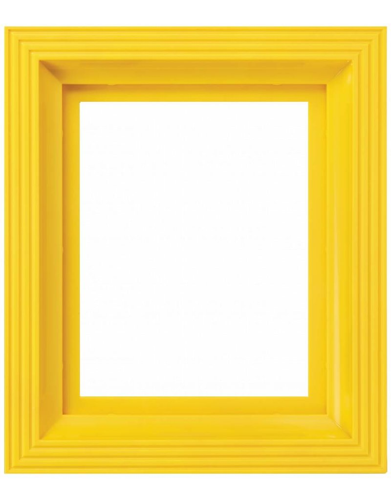 Pixel Hobby Kunststof lijst voor 1 basisplaat (geel)