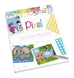 Pixel Hobby Boekje kleine basisplaat voorbeelden