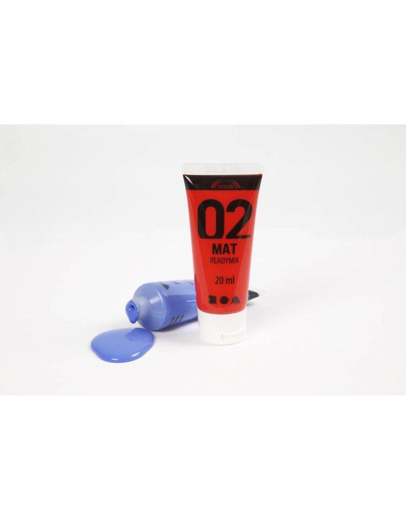 A-Color acrylverf, 6x20 ml, kleuren assorti