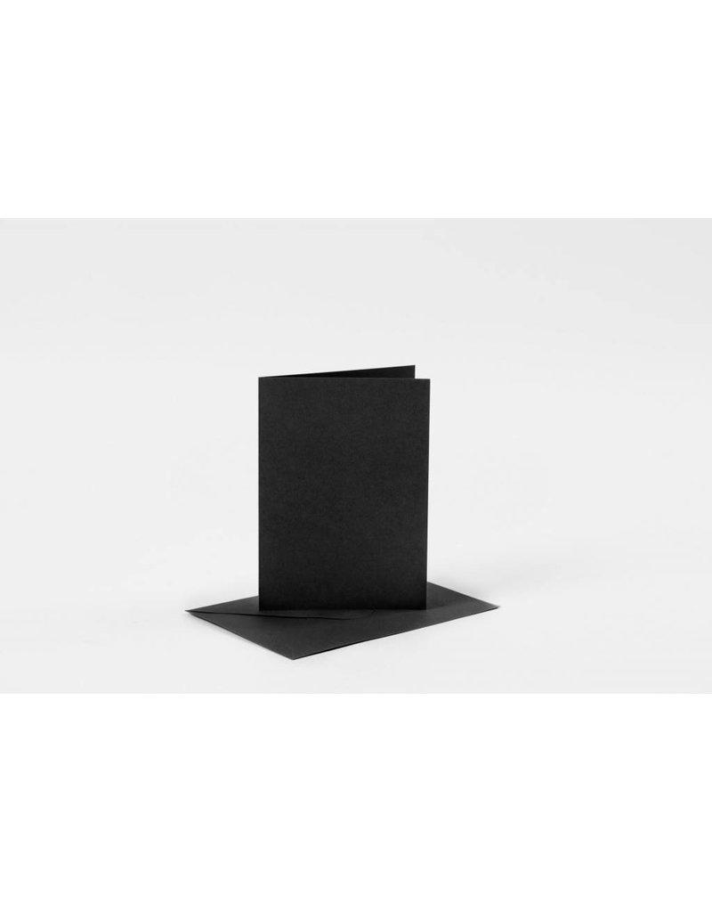 Kaarten en enveloppen, afmeting kaart 10,5x15 cm, afmeting envelop 11,5x16,5 cm, per stuk