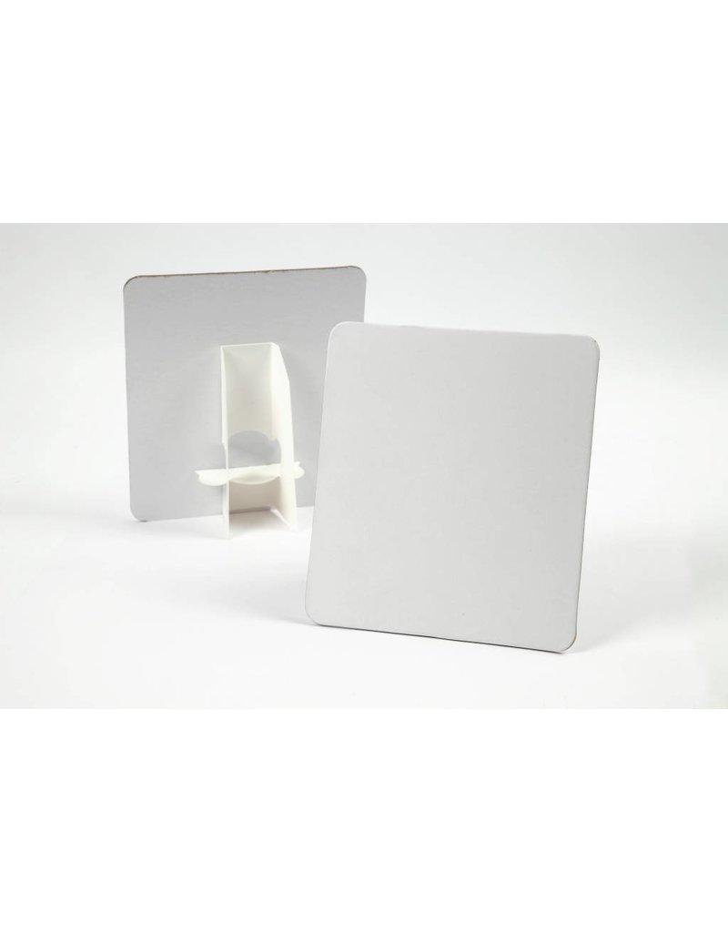Deco plaat, afm 17x19 cm, dikte 2 mm, 5 stuks