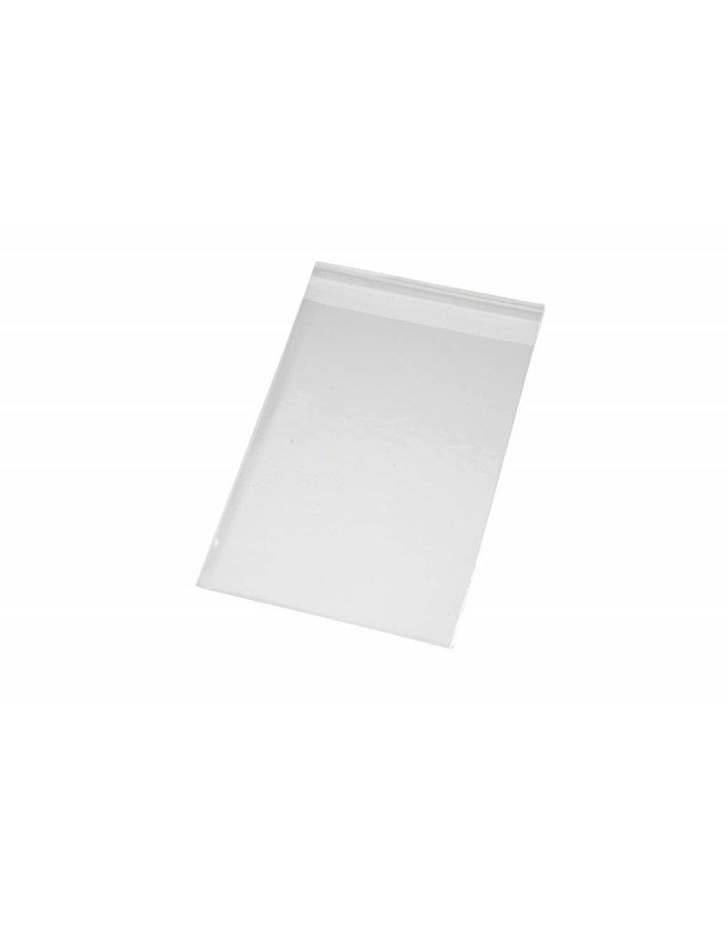 Cellofaan zakjes, b: 12,3 cm, h: 17,3 cm, 200 stuks