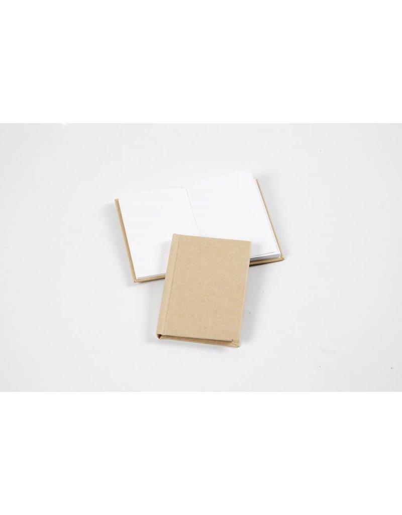 Notitieboek, A7 7,5x10,5 cm, dikte 8 mm, 1 stuk, bruin