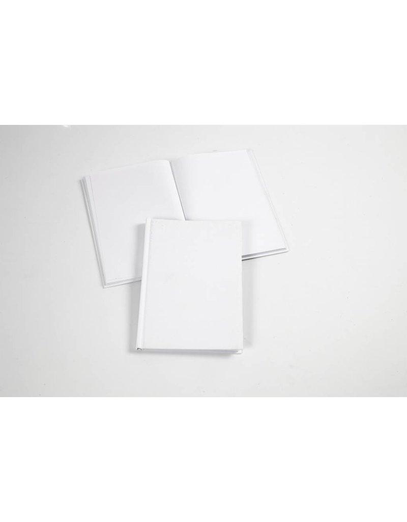 Notitieboek, A5 15x21 cm, dikte 8 mm, 1 stuk, wit