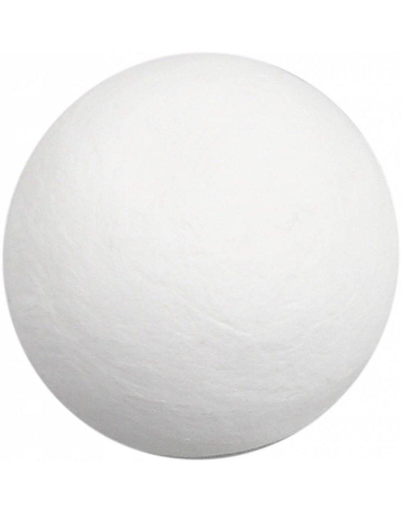 Katoenballen, d: 50 mm, wit, per stuk