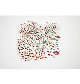 Mini stickers, afm 07-nov mm, per stuk