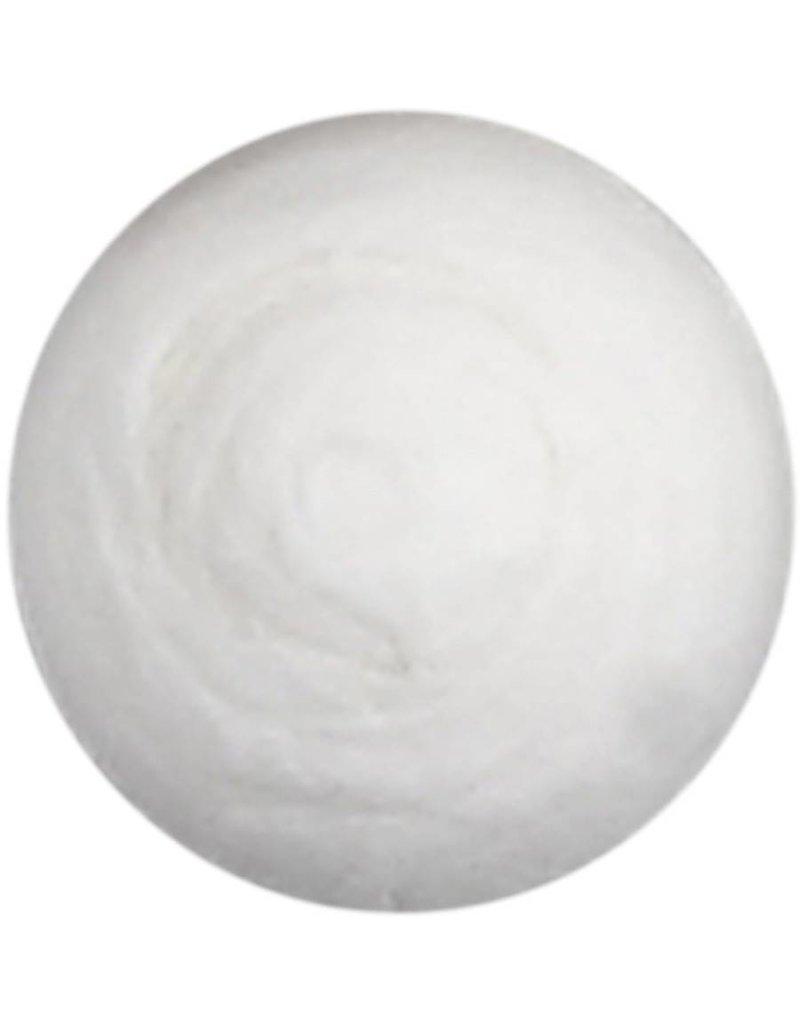 Katoenballen, d: 15 mm, wit, per stuk
