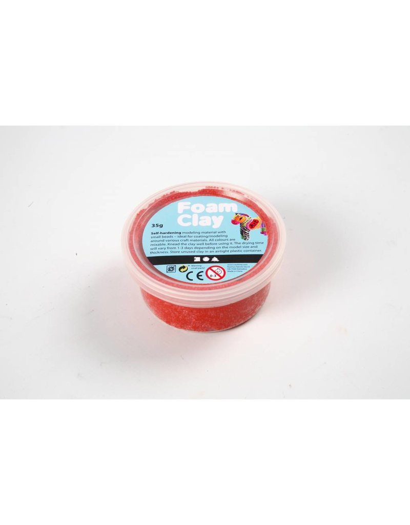 Foam Clay, 35 gr, rood