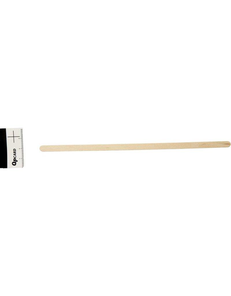 Lolliestokjes, l: 19 cm, b: 6 mm, 30 stuks, berkehout