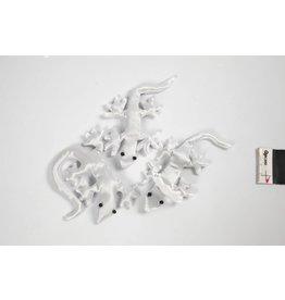 Creepy-Crawly van stof, afm 10-14 cm, 3 stuks