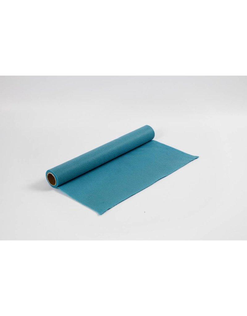 Hobbyvilt, b: 45 cm, dikte 1,5 mm, 1 m, turquoise