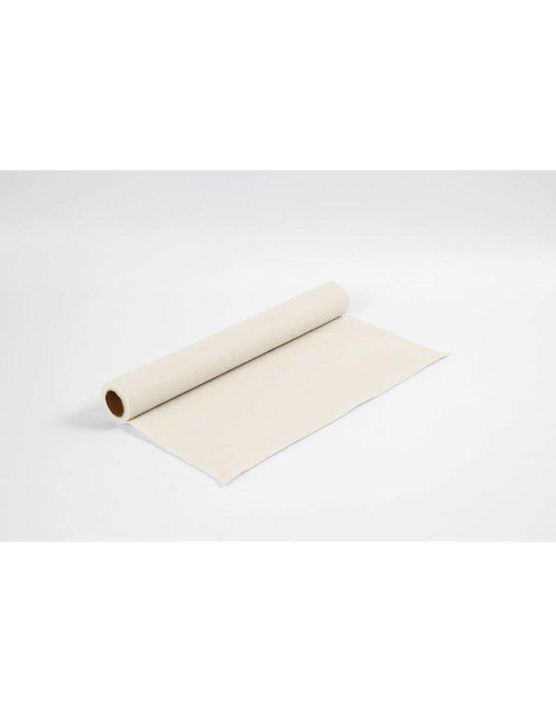 Hobbyvilt, b: 45 cm, dikte 1,5 mm, 1 m, offwhite