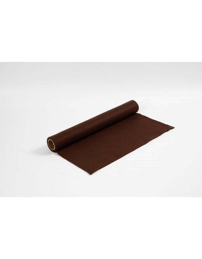 Hobbyvilt, b: 45 cm, dikte 1,5 mm, 1 m, bruin