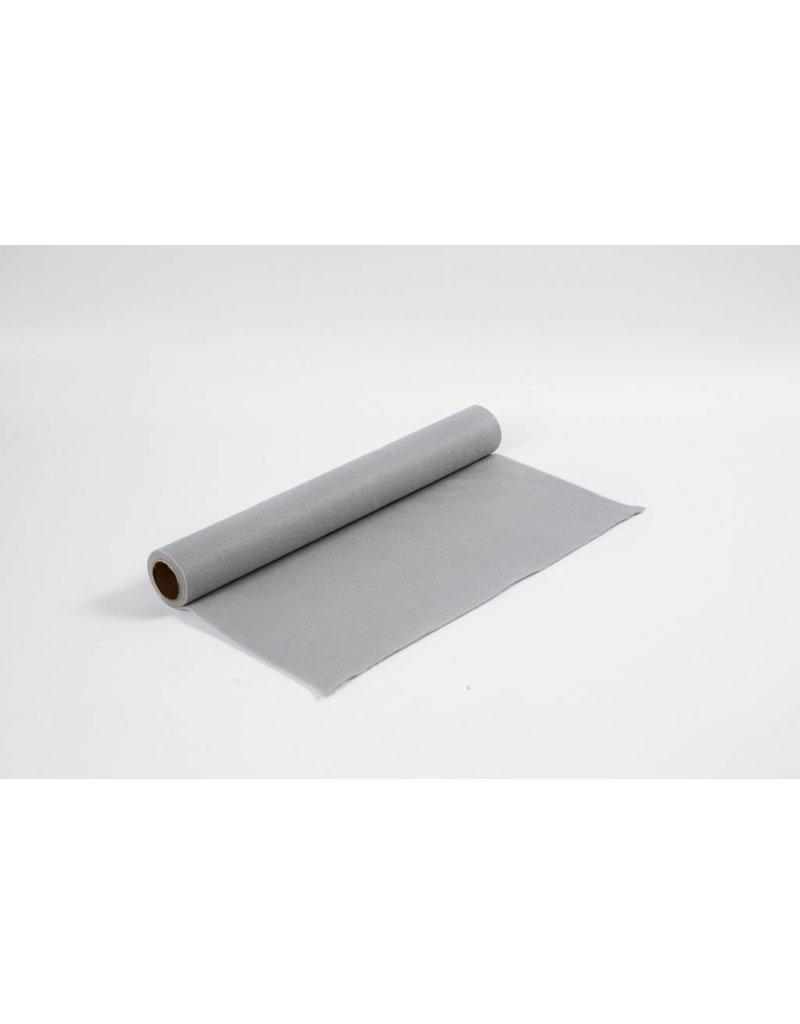 Hobbyvilt, b: 45 cm, dikte 1,5 mm, 1 m, grijs