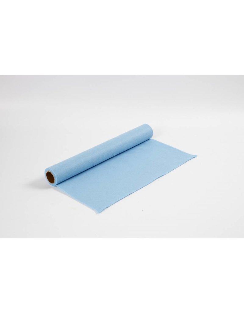 Hobbyvilt, b: 45 cm, dikte 1,5 mm, 1 m, lichtblauw