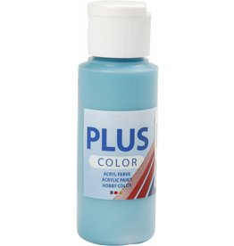 Plus Color acrylverf, 60 ml, turquoise