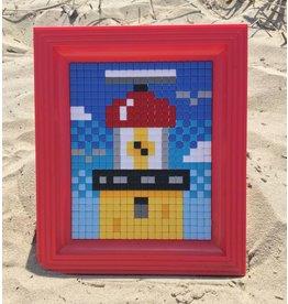 Brandaris pixel XL met rode lijst