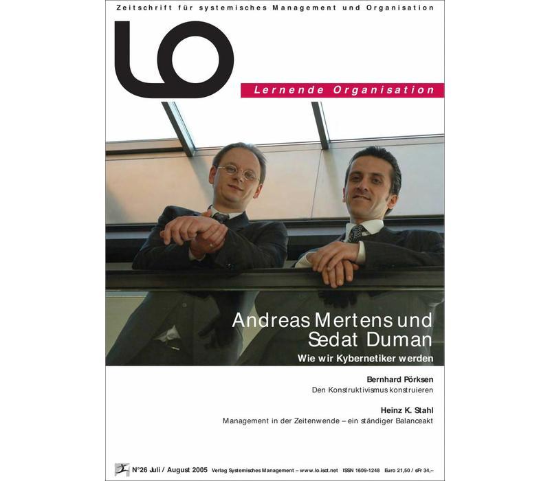 LO 26: Wie wir Kybernetiker werden (PDF/Print)