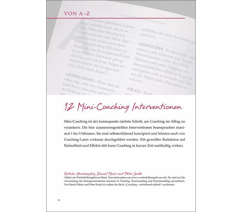 12 Mini-Coaching Interventionen