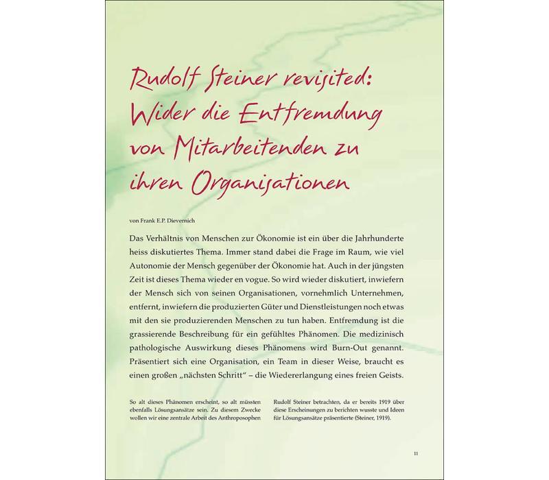 Rudolf Steiner revisited: Wider die Entfremdung von Mitarbeitenden zu ihren Organisationen