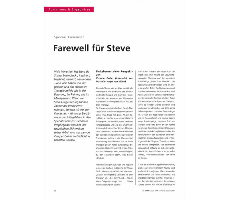 Farewell für Steve