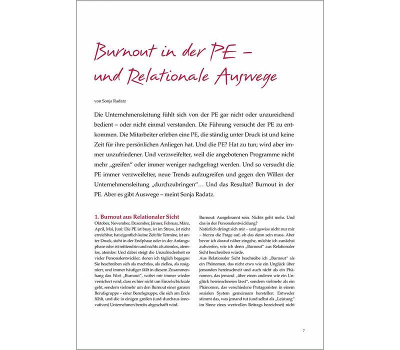 7 Burnout in der PE – und Relationale Auswege